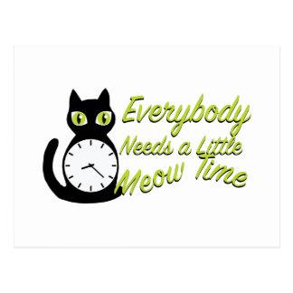 Meow Time Postcard