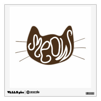 Meow Wall Sticker