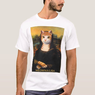 Meowna Lisa Shirt