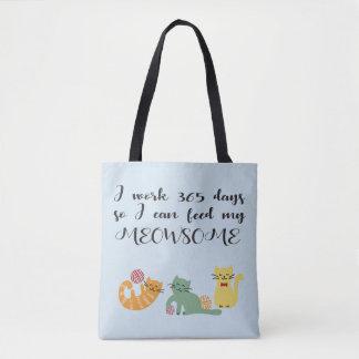 Meowsome Cats Tote Bag