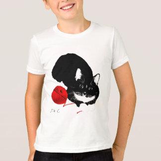 Meowu Kids Tuxy Tuxedo Tee