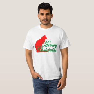 Meowy Christmas And A Happy Mew Year '. T-Shirt