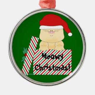 Meowy Christmas Christmas Ornament