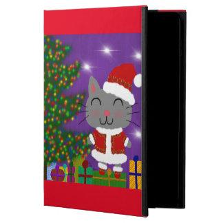 Meowy Christmas iPad Air Covers