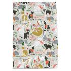 Meowy Christmas Medium Gift Bag