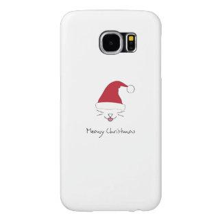 Meowy Christmas Samsung Galaxy S6 Case