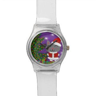 Meowy Christmas Watch