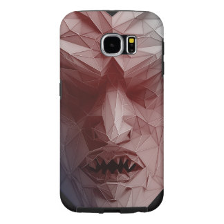 Mephistopheles (MEPHISTO) 3D wireframe Samsung Galaxy S6 Cases