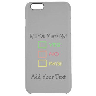 M'épouserez-vous ? coque iPhone 6 plus