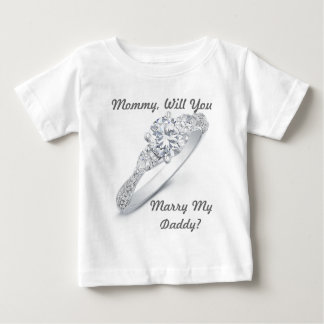 M'épouserez-vous ? t shirt