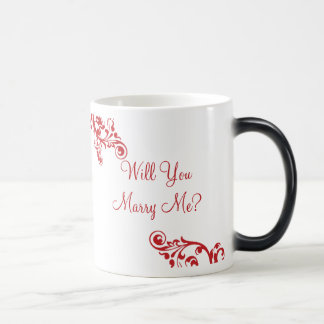 M'épouserez-vous ? Tasse cachée de Flourish de