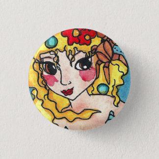 Mer-Cancer Horoscope Mermaid Button