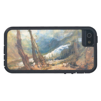 Mer de Glace, the Valley of Chamouni, Switzerland iPhone 5 Cases
