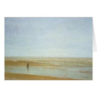 Mer et pluie par James Abbott McNeill Whistler Carte De Vœux