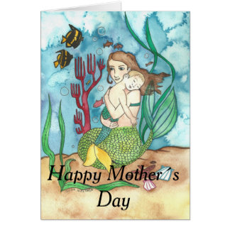 Mer-Mother Mother´s Day Greeting Card