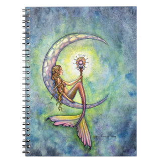Meramid Moon Fantasy Notebook