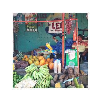 Mercado Dominicano Canvas Print