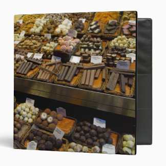 Mercat de Sant Josep, assorted chocolate candy Vinyl Binders