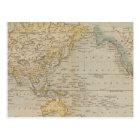 Mercator's Chart Postcard