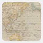 Mercator's Chart Square Sticker
