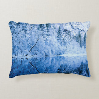 Merced River | Yosemite National Park, CA Accent Pillow