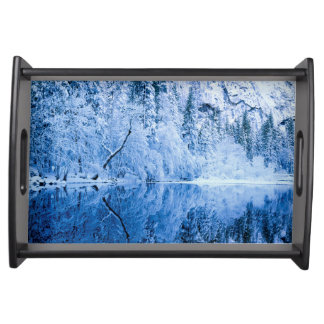 Merced River | Yosemite National Park, CA Serving Tray