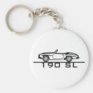 Mercedes 190 SL Type 121 Keychain