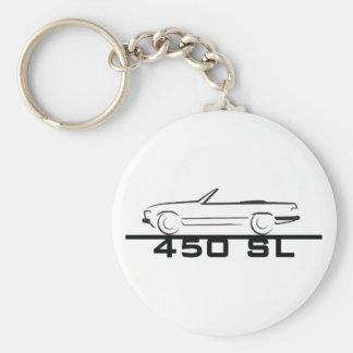 Mercedes 450 SL Type 107 Keychain
