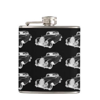 Mercedes Benz 300 Luxury Car Art Hip Flask