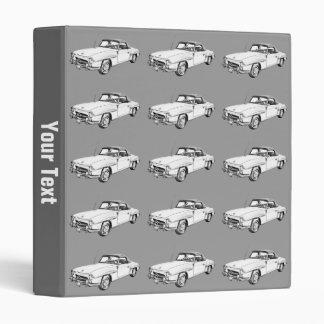 Mercedes Benz 300 sl Illustration Binders