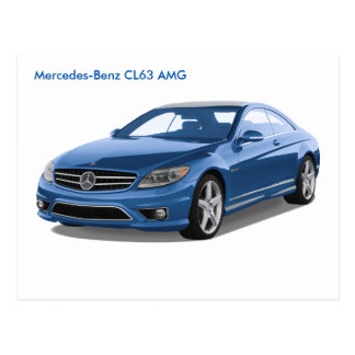 Mercedes-Benz image for postcard