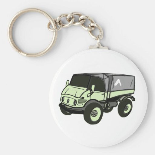 Mercedes benz unimog keychains zazzle for Mercedes benz key rings for sale