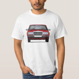 Mercedes-Benz W123 t-shirt red
