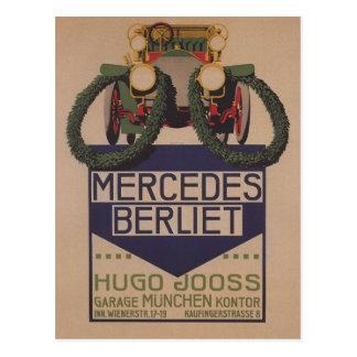 Mercedes Berliet Card