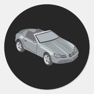Mercedes SLK Classic Round Sticker