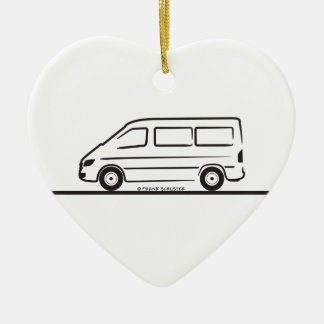 Mercedes Sprinter Short Wheelbase Ceramic Ornament