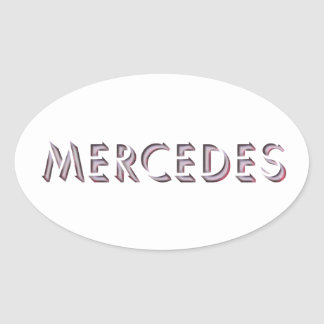Mercedes sticker