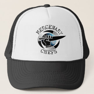 MercenaryChefs color globe Trucker Hat