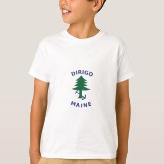 Merchant and Marine Flag of Maine T-Shirt