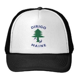 Merchant and Marine Flag of Maine Trucker Hat