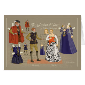 Merchant of Venice Card