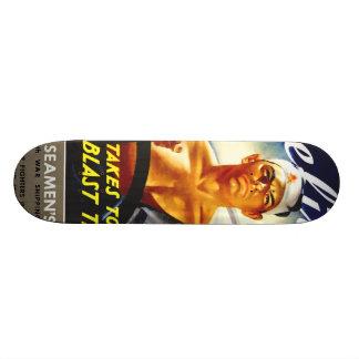 Merchant Seamen Skate Board