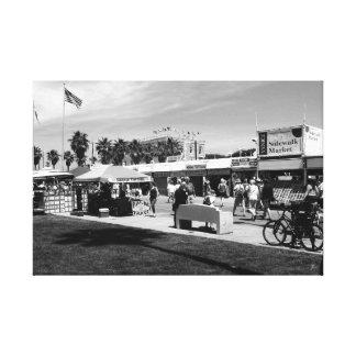 Merchants at Venice Beach Canvas Print