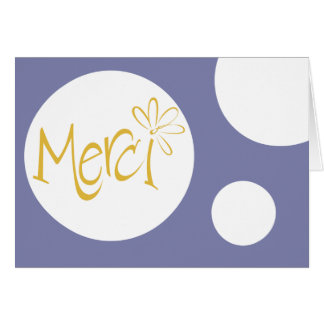 Merci! Card