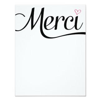 Merci Flat Thank You Notes Card
