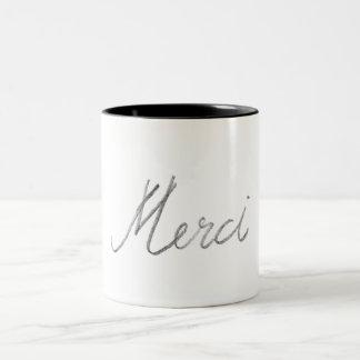 'merci' Mug