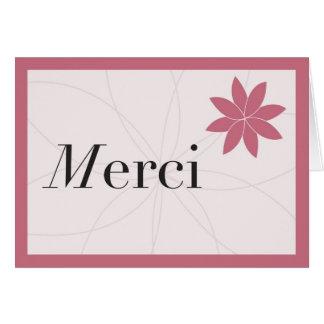 Merci Pink Card