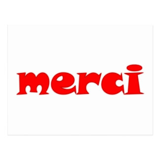 merci postcard