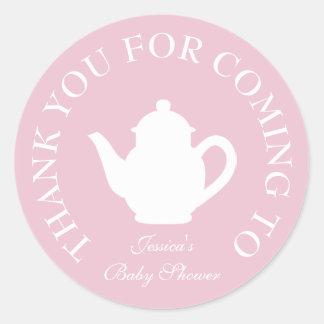 Merci pour les prochains autocollants de thé de