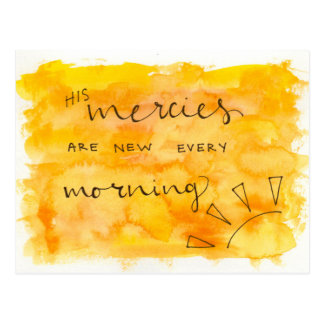 Mercies Postcard